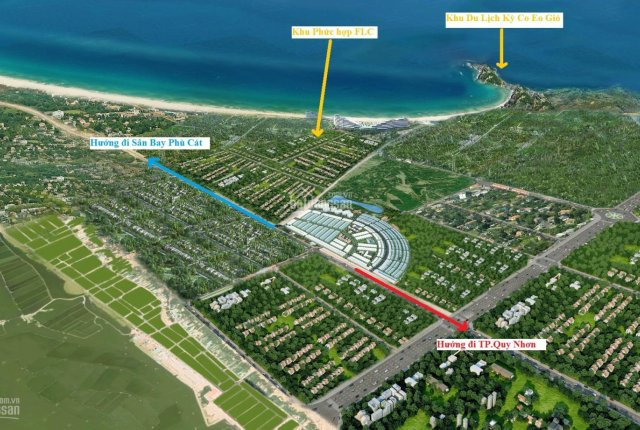 Vị trí 1 0 2 sinh lời cao chỉ 465tr/nền đất biển sổ đỏ vĩnh viễn ngay Kỳ Co Gateway. LH 0932804617