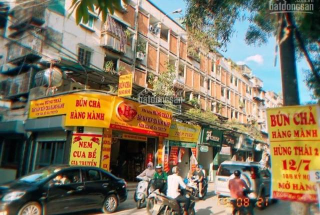 Cho thuê mặt bằng kinh doanh DT 70m2 mặt phố Thành Công (ngay ngã ba Láng Hạ - Thành Công)