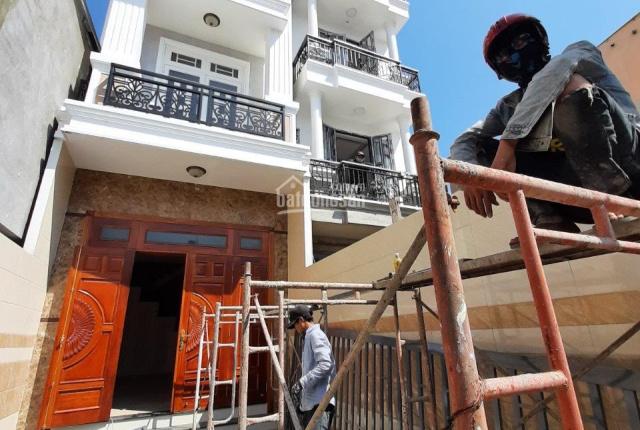 Bán gấp nhà 3 lầu 84m2 sổ hồng riêng đường 6m sát mặt tiền Bình Lợi, giá cực tốt! 0778.698.776