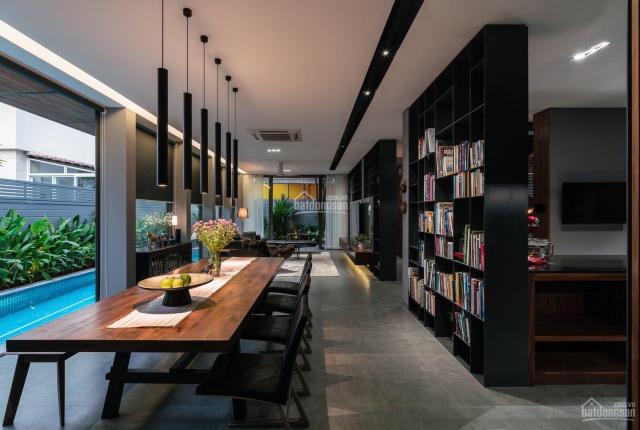 Giá hot, bán siêu phẩm biệt thự đơn lập Phú Mỹ Hưng 309m2 có hồ bơi, phong cách resort 5 sao