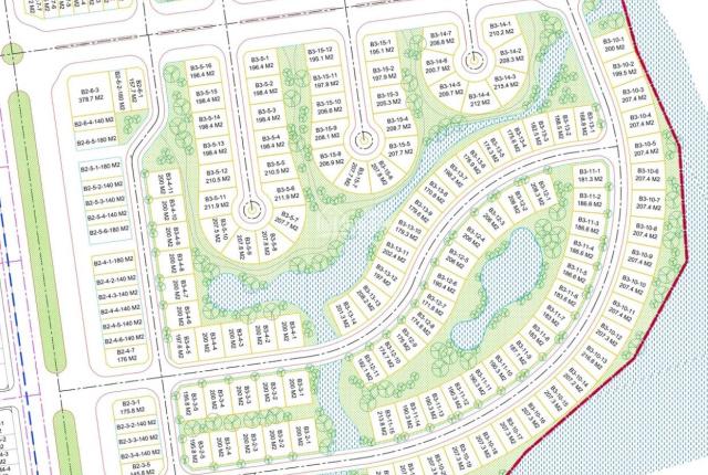 Bán đất nền biệt thự Eco Cham, giá chỉ 17 tr/m2, sạch đẹp, trục đường thông, kề lô gốc, giá tốt