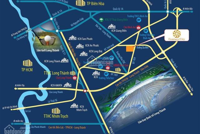 Chính thức nhận đặt chỗ vị trí đẹp dự án Century City giá của CĐT từ 18tr/m2, CK từ 6 - 30 chỉ SJC