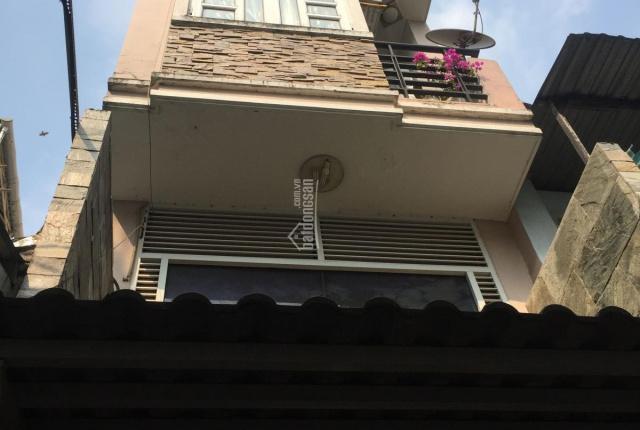 Nhà Nguyễn Cảnh Chân, Q. 1, 3.2x13m, trệt lửng 3 lầu sân thượng