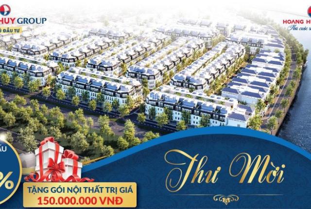 Sự kiện mở bán quỹ căn cuối cùng khu đô thị Hoàng Huy Riverside Sông Cấm với những ưu đãi cực kì