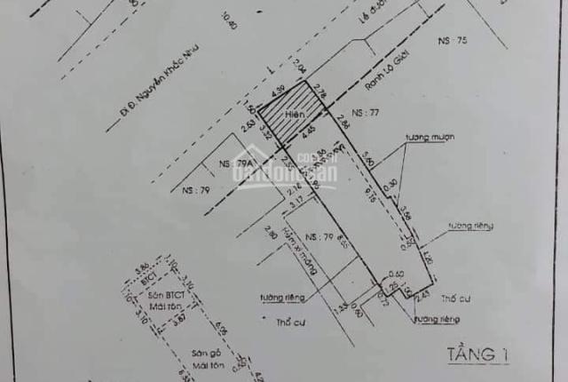 Cần bán nhà mặt tiền 77A Cô Bắc, P Cô Giang Q1, nở hậu, giá 27 tỷ