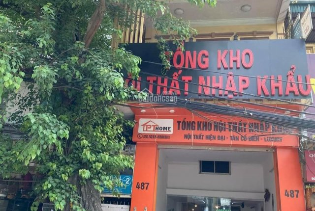 Cho thuê mặt bằng tầng 1 - mặt tiền (thông sàn: 380m2) địa chỉ: 487 Hoàng Hoa Thám, Ba Đình, Hà Nội