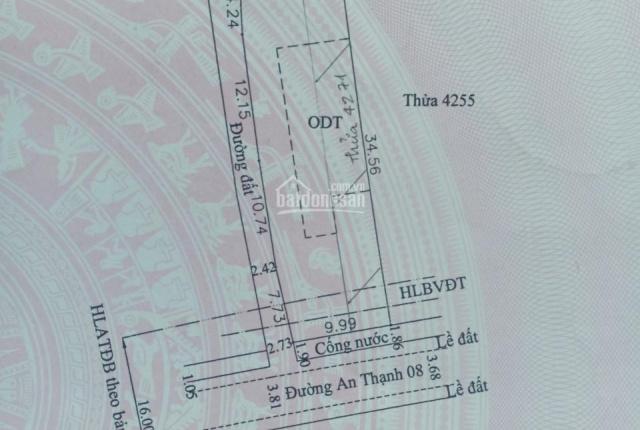 Bán gấp đầu năm đất TP Thuận An, đường An Thạnh 08, giảm giá còn 18 triệu/m2. Liên hệ: 0937.253.268