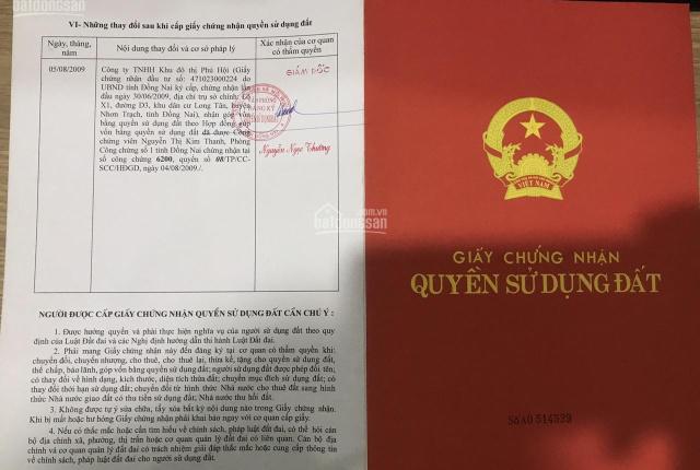 Mega 2 đất mặt tiền 25C kết nối sân bay, TTHC Nhơn Trạch, nhận ký gửi sản phẩm