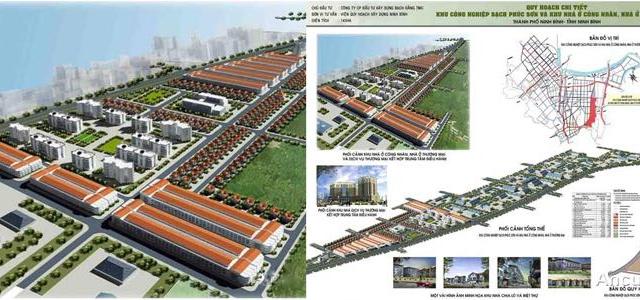 Cần tiền bán gấp đất trong KCN Phúc Sơn, đường Trần Nhân Tông, TP Ninh Bình