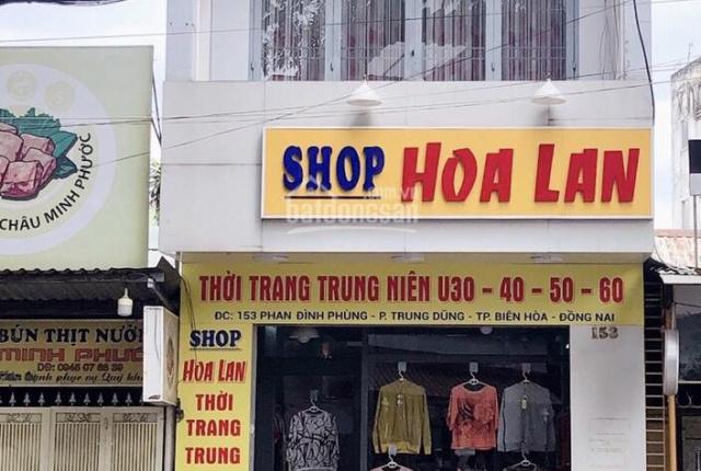 Bán nhà mặt tiền đường Phan Đình Phùng, phường Trung Dũng, thành phố Biên Hòa