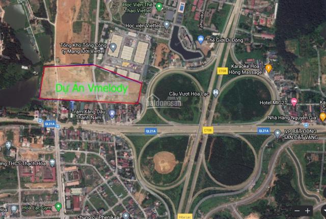Bán 5 (lô góc) biệt thự V Melody Láng Hòa Lạc, diện tích 192m2 và 221m2 vị trí đắc địa nhất dự án