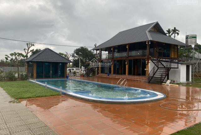Chính chủ bán khuôn viên nhà vườn nghỉ dưỡng 8.250m2 có 800m2 thổ cư, chia sẵn 4 lô thổ cư 3 tr/m2