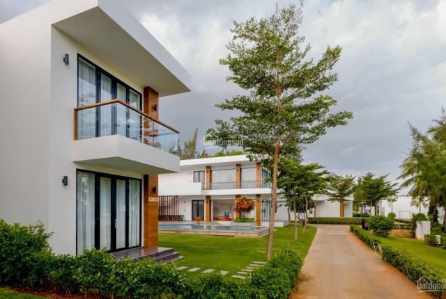 Biệt thự mặt tiền biển 3 phòng ngủ ngay trung tâm Long Hải,giá chỉ từ 6,2 tỷ/căn đất ở lâu dài