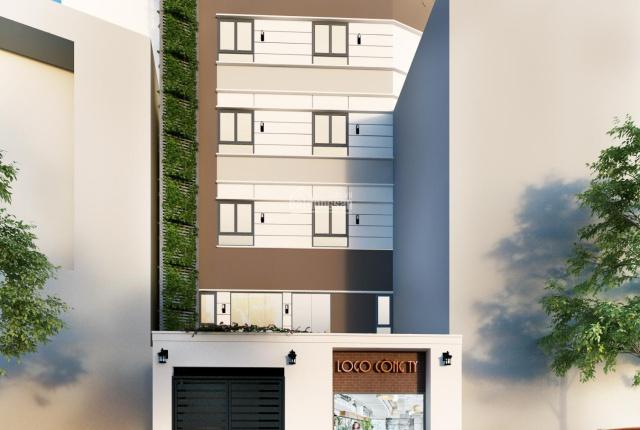 Bán tòa nhà căn hộ dịch vụ, DT sử dụng 1300m2, ngay cầu Lê Văn Sỹ, Q3, cách mặt đường 20m