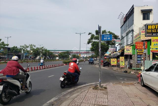 Đất xây biệt thự đẹp đường 18, cách Phạm Văn Đồng 200m DT 215m2(10×21,5) giá 17,7 tỷ LH: 0907260265