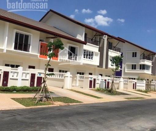 Bán rẻ căn nhà phố đại đô thị sinh thái Ecolakes Mỹ Phước, 6mx 20m, sổ hồng riêng thổ cư