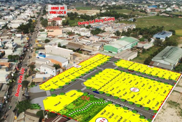 Bán đất mặt tiền đường Vĩnh Lộc, giáp Bình Tân, có sổ đỏ tặng giấy phép xây dựng, Hòa 0906972848