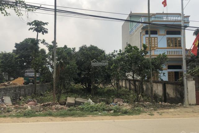 Chính chủ bán đất nền hoa hậu mặt đường liên xã Phú Mãn, Quốc Oai sổ sẵn full thổ cư