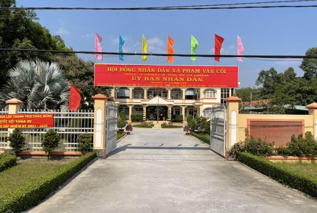 Cần lô đất 2 mặt tiền 1.632m2(20x82,5) mặt tiền đường Bàu Lách, Phạm Văn Cội, huyện Củ Chi, TP. HCM