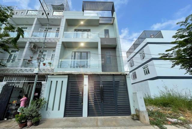 Kim Chi Land bán nhà 3 lầu khu vip Green Riverside, Huỳnh Tấn Phát, full nội thất mới 100%