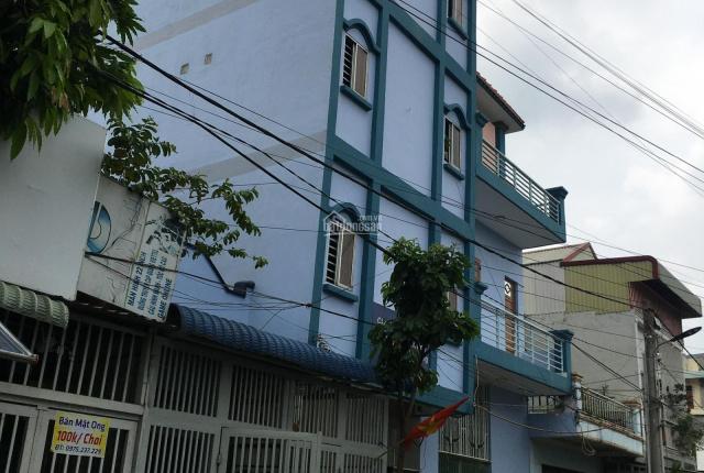 Bán nhà 1 trệt 3 lầu 450m2 sàn Vsip 1 KDC Minh Tuấn Bình Đáng, Bình Hòa, Thuận An, Bình Dương