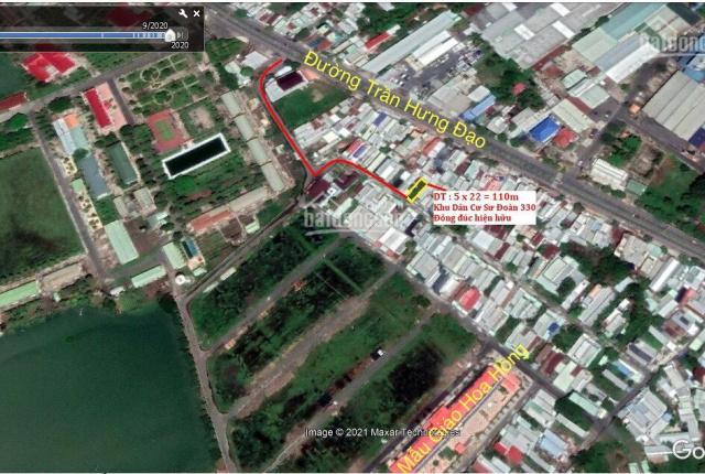 Cần bán lô đất đẹp đông dân cư đã hiện hữu Khu Dân Cư Sư Đoàn 330. Lô đất hiếm có diện tích 110m