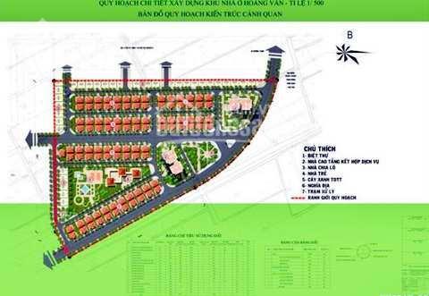 Bán nhanh nền biệt thự khu Hoàng Vân - hạ tầng hoàn thiện, view cực đẹp