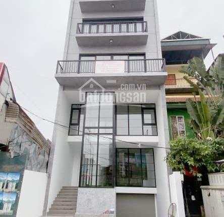 Cho thuê 3 tầng toà nhà mới 387 Âu Cơ, Tây Hồ, Hà Nội