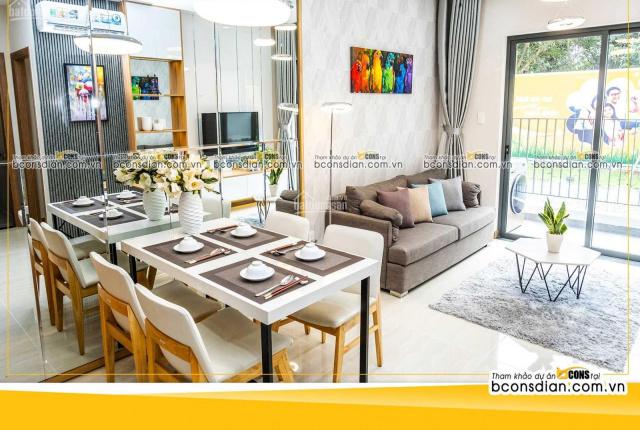 Chỉ 450tr sở hữu ngay căn hộ 2PN liền kề TP Thủ Đức, Bcons Plaza giá tốt nhất khu vực sổ hồng riêng