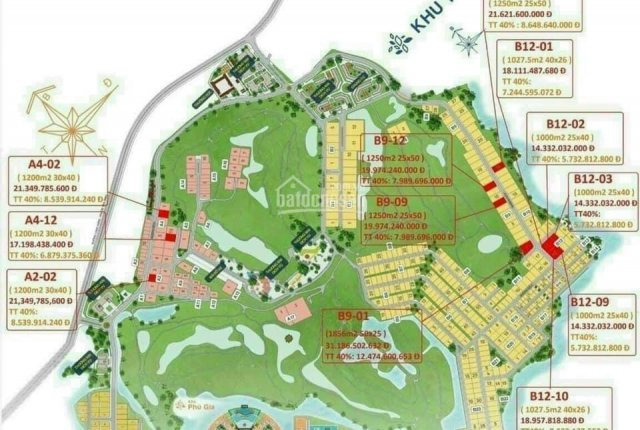 Đất nền sổ đỏ từ 1000m2 - 100% thổ cư - duy nhất tại Biên Hòa New City, giá chỉ từ 14tr/m2
