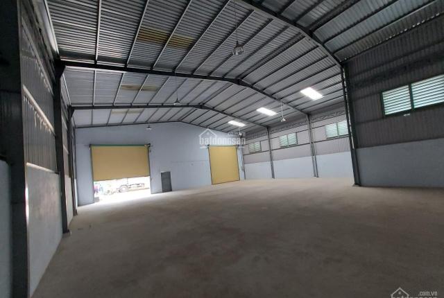 Cho thuê kho xưởng mới xây 500m2, đường xe công, Thuận Giao Thuận An, bình Dương