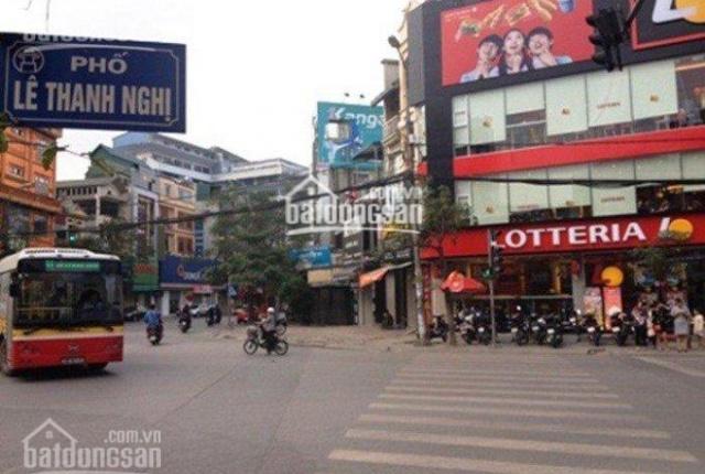 Cho thuê nhà mặt phố Lê Thanh Nghị 55m2 x 7 tầng, thang máy. LH 0911822993