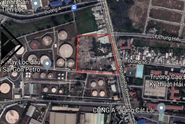 LH 0972772829 Đất kho bãi. Mặt tiền đường Nguyễn Thị Định - Cát Lái