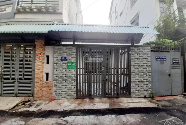Bán nhà góc 2MT hẻm 5m P. Tân Sơn Nhì, Q. Tân Phú (4.5m x 21m, vuông) cấp 4. Giá 7.2 tỷ, TL