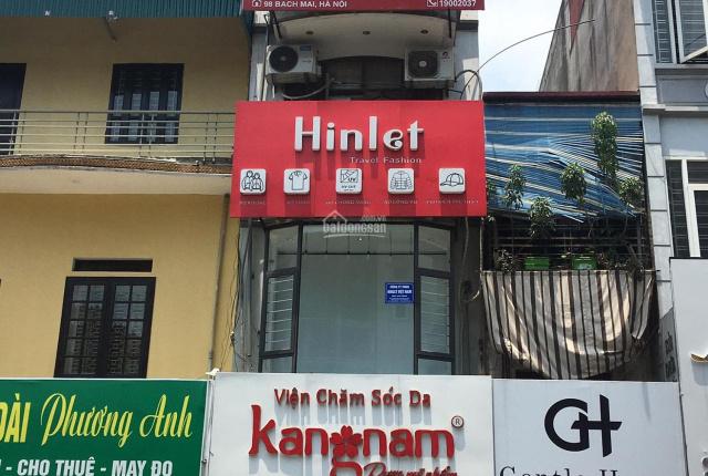 Chính chủ bán gấp nhà mặt phố Bạch Mai, đang cho thuê 40tr/tháng, kinh doanh tốt, ô tô đỗ cửa