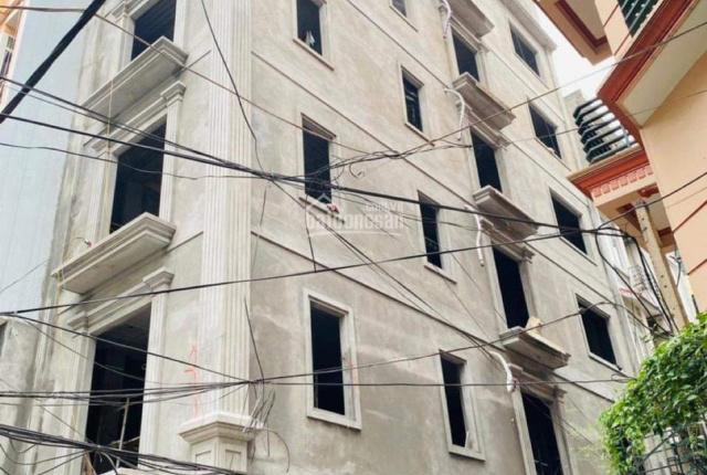 Chính chủ bán gấp toà nhà dịch vụ Phạm Thận Duật 50m2, lô góc 12 tỷ 800tr, LH 0988799924