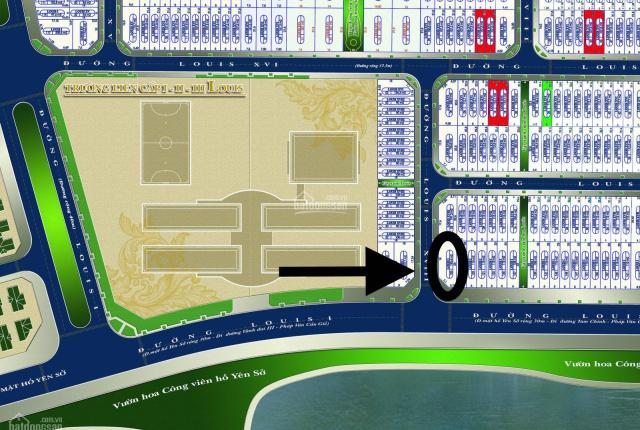 Bán căn góc Louis City mặt đường 30m, view hồ Yên Sở, đã có HĐMB - Thông tin chuẩn 100%, k báo ảo