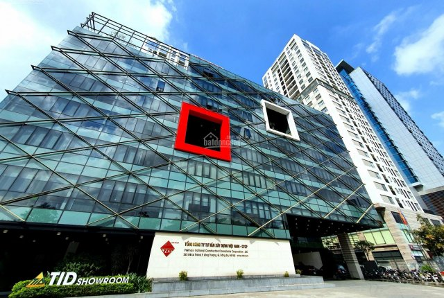 Cho thuê mặt bằng tầng 1 tòa nhà VNCC 243 Đê La Thành, Đống Đa, DT 140m2, giá từ 378.437đ/m2/tháng