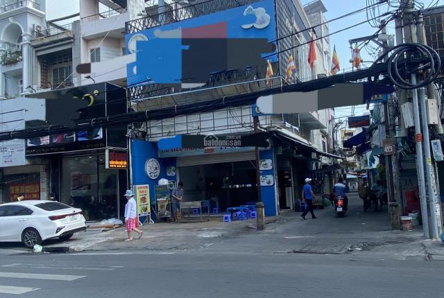 Cho thuê góc 2 mặt tiền Lê Lai, phường Bến Thành Quận 1 DT 5x20m 1 trệt 1 lửng 3 lầu 80 triệu