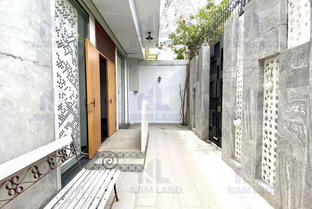 Villa sàn rộng cho thuê, style hiện đại, 4PN, tại Nguyễn Văn Hưởng chỉ 45tr, full nội thất