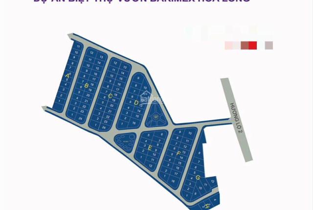 Bán đất Bà Rịa, biệt thự Barimex Hòa Long, đường Hương Lộ 2, 299m2 full TC, 2.35 tỷ, LH: 0909063509