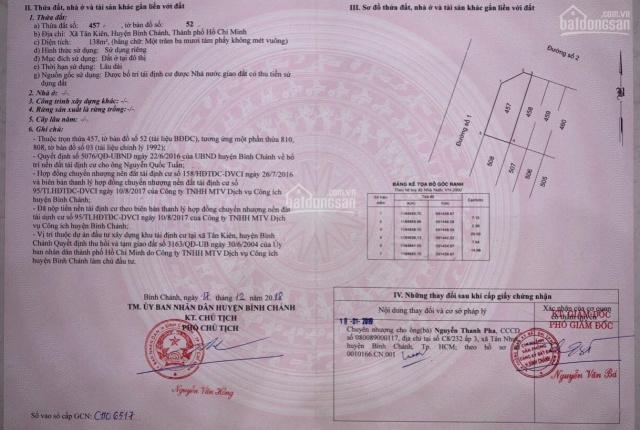 Chính chủ cần bán lô góc 2 mặt tiền gần vòng xoay An Lạc Aeon Mall, kế bên BV Nhi Đồng thành phố