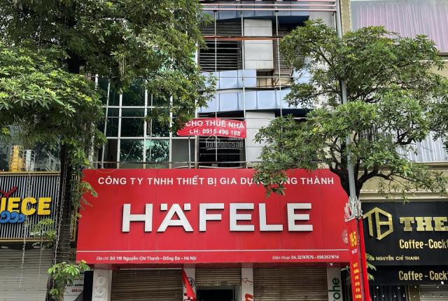 Chính chủ cho thuê nhà 4 tầng mặt đường Nguyễn Chí Thanh, Hà Nội, LH 0915490188