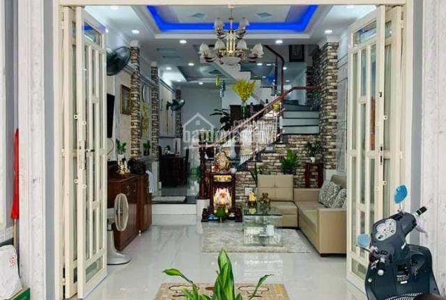 Nhà đẹp Đào Tông Nguyên - Nhà Bè - khu dân cư Sài Gòn Mới nhiều nhà cao tầng đồng bộ
