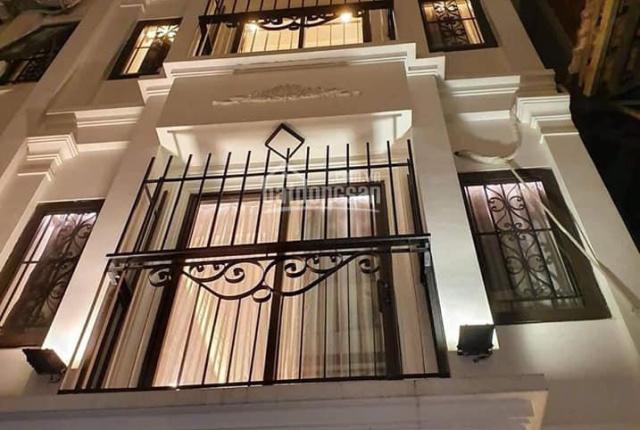 Nhà mới Phố Bùi Ngọc Dương, Hai Bà Trưng, oto 7 chỗ đổ cổng, 40m2 x 5 tầng, mặt tiền 4m, giá 5.5 tỷ
