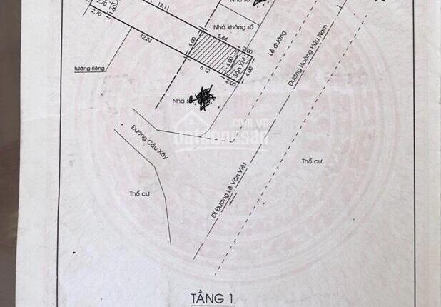 Chính chủ bán nhà mặt tiền Hoàng Hữu Nam, phường Tân Phú, Quận 9, hướng Đông Nam, 9,5tỷ, 0966190484