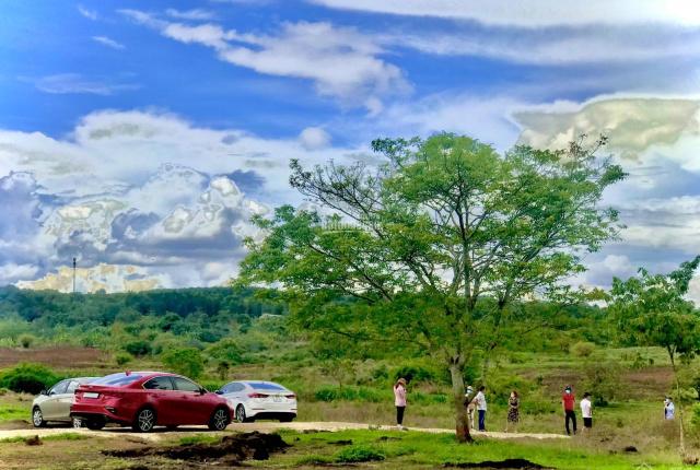 Kẹt tiền cần bán gấp lô đất chính chủ, DT 6700m2, 2 mặt tiền đường xã Bàu Cạn, lên full thổ cư