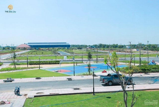 Dự án đất nền The Sol City sổ đỏ từng lô chợ Hưng Long - Bình Chánh. 0906579824