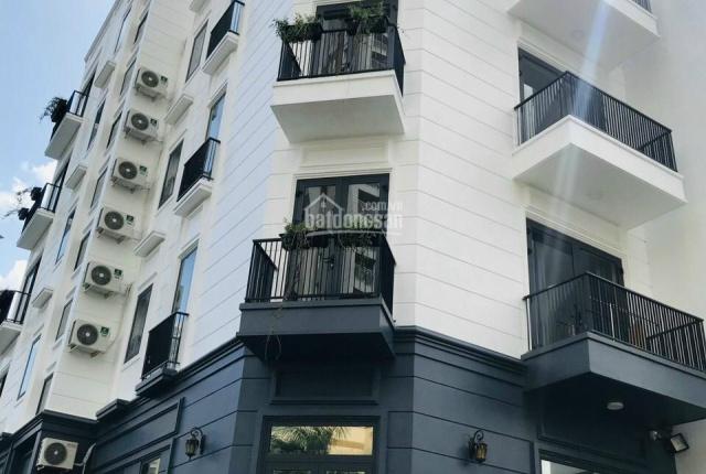 Bán nhà (MT) 5 lầu Nguyễn Trung Trực P5 Bình Thạnh (6.7x14m) CN 82m2, có thang máy giá 14,5 tỷ TL