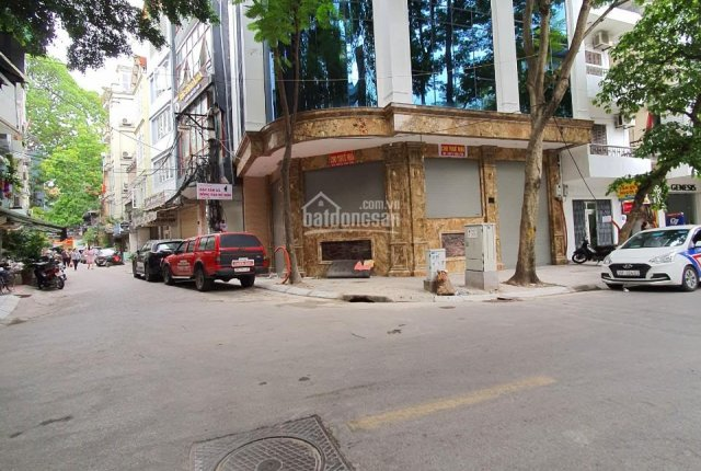 Cho thuê nhà căn góc phố Kim Mã Ba Đình DT 90m2 7T Mặt tiền 18m shop nha khoa thẩm mỹ viện giá 90tr